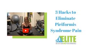 Kristen Ziesmer, Sports Dietitian - 3 Hacks to Eliminate Piriformis Syndrome Pain