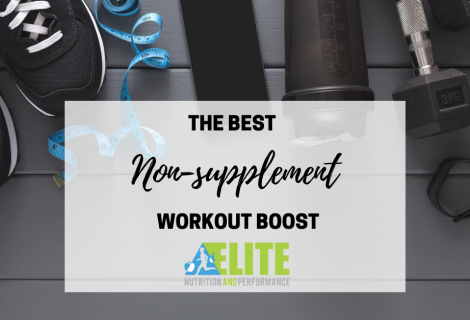 The Best Non-supplement Pre-Workout Boost