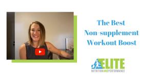 Kristen Ziesmer, Sports Dietitian - The Best Non-supplement Workout Boost