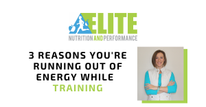 3 Reasons You're Running Out of Energy While Training
