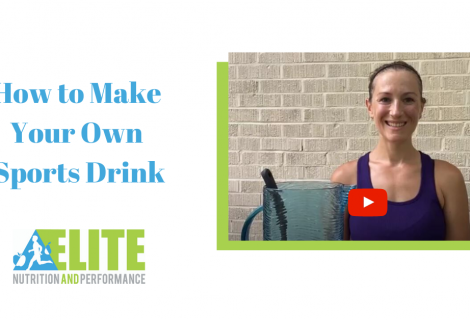 How to Make Your Own Sports Drink