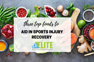 3 Top Foods to Aid in Sports Injury Recovery