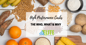 Kristen Ziesmer, Sports Dietitian - High Performance Carbs, the Who, What and Why