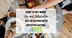 Kristen Ziesmer, Sports Dietitian - How to Get More Joy and Satisfaction Out of Eating with Intuitive Eating