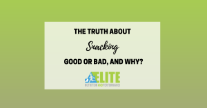 Kristen Ziesmer, Sports Dietitian - The Truth About Snacking