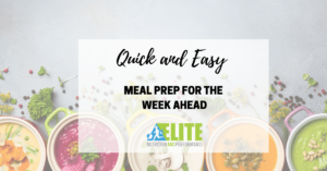 Kristen Ziesmer, Sports Dietitian - Quick and Easy Meal Prep for the Week Ahead