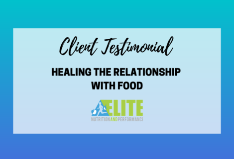 Client Testimonial – Healing the Relationship With Food