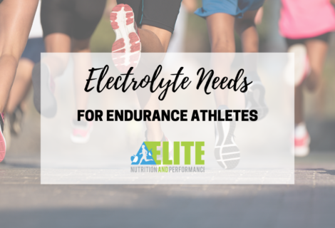 Electrolyte Needs for Endurance Athletes