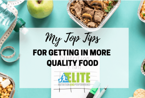 My Top Tips for Getting in More Quality Food