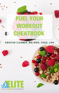 FUEL YOUR WORKOUT CHEATBOOK