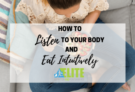 How to Listen to Your Body and Eat Intuitively