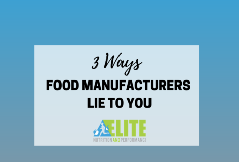 3 Ways Food Manufacturers Lie to You