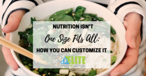 Nutrition Isn't a One Size Fits All, How You Can Customize It - Kristen Ziesmer, Sports Dietitian